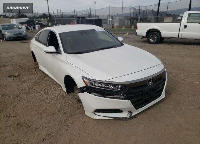 Lot #1692263618 2018 HONDA ACCORD SPO salvage car