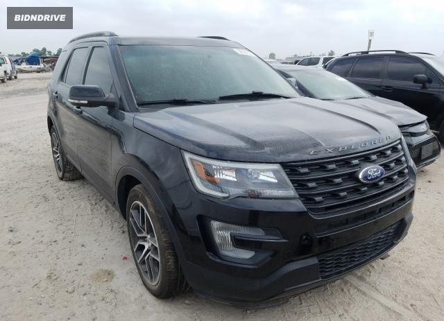 Lot #1692268455 2016 FORD EXPLORER S salvage car