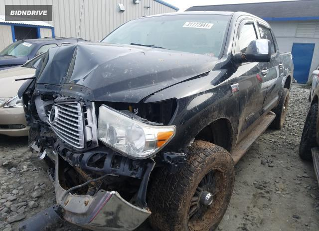 Lot #1692313435 2013 TOYOTA TUNDRA CRE salvage car
