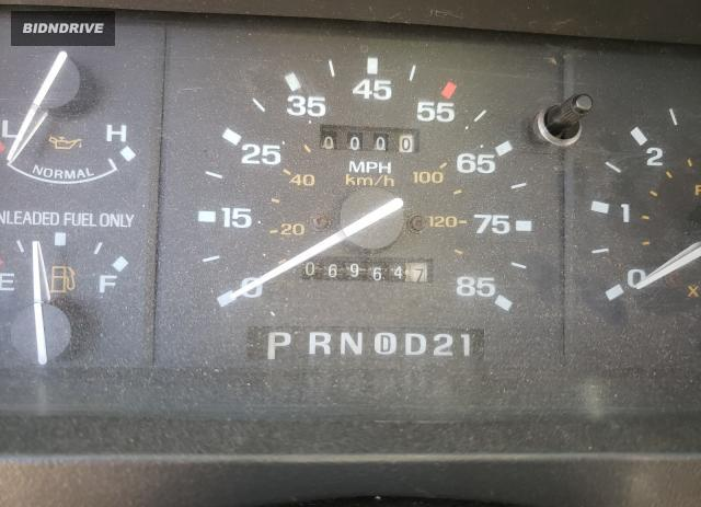 Lot #1692352778 1992 FORD RANGER SUP salvage car