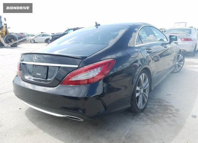 Lot #1692357982 2016 MERCEDES-BENZ CLS 550 salvage car