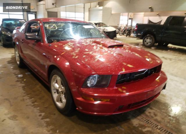 Lot #1693610265 2008 FORD MUSTANG GT salvage car
