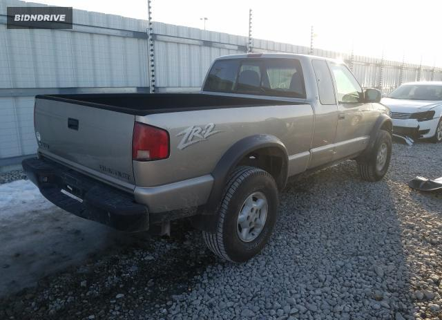 Lot #1693620762 1999 CHEVROLET S TRUCK S1 salvage car