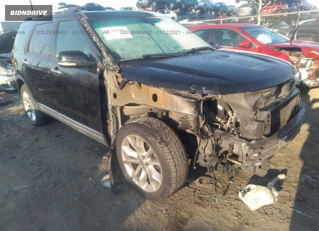 Lot #1693929755 2011 FORD EXPLORER LIMITED salvage car