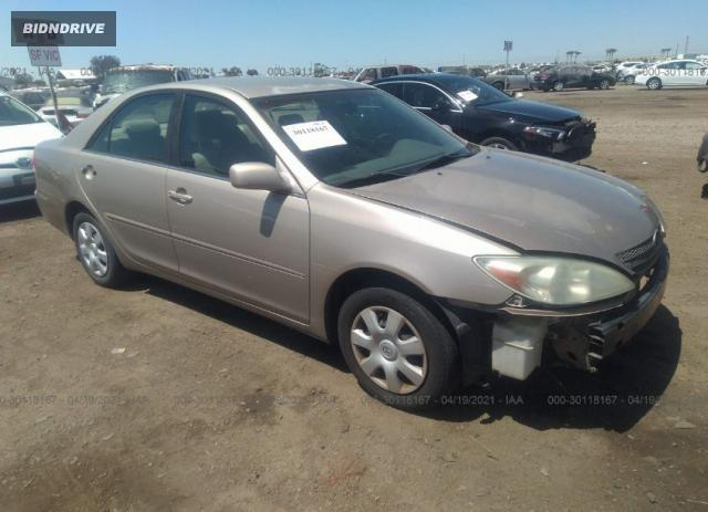 Lot #1693930362 2003 TOYOTA CAMRY LE salvage car