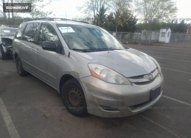 Lot #1694429448 2007 TOYOTA SIENNA CE/LE salvage car