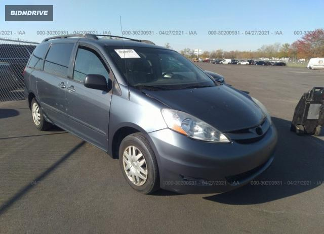 Lot #1694429615 2008 TOYOTA SIENNA CE/LE salvage car