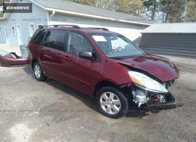 Lot #1694429785 2006 TOYOTA SIENNA CE/LE salvage car