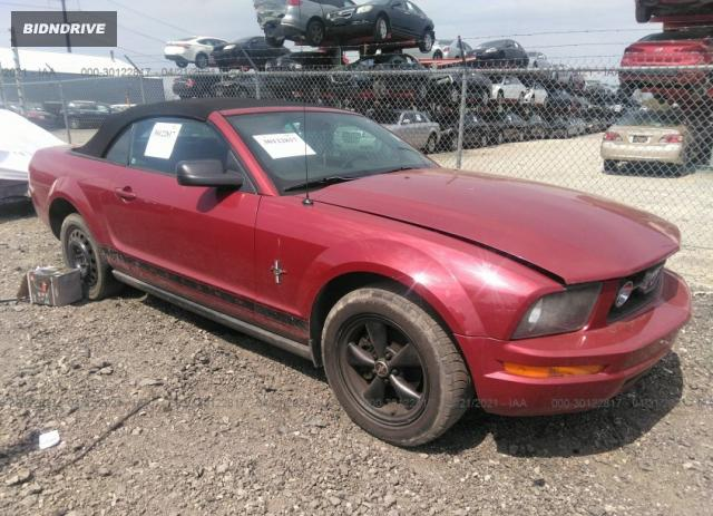Lot #1694429972 2008 FORD MUSTANG DELUXE/PREMIUM salvage car