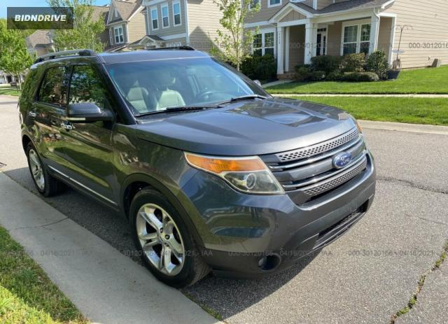 Lot #1694429980 2015 FORD EXPLORER LIMITED salvage car