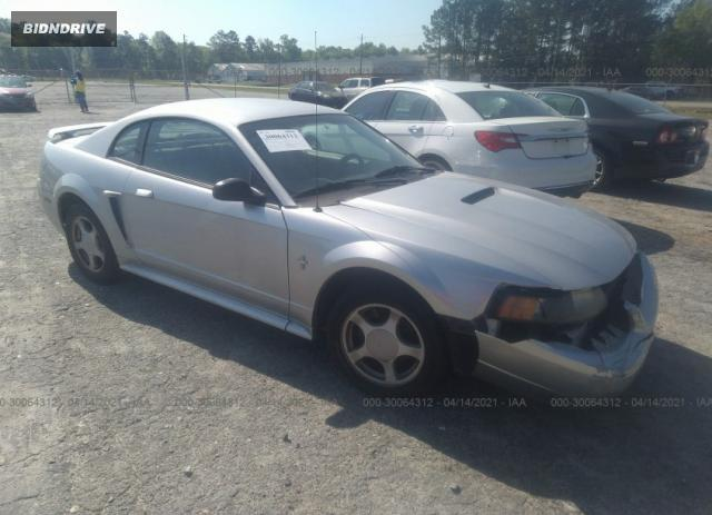 Lot #1694430158 2003 FORD MUSTANG STANDARD/DELUXE/PREMIUM salvage car