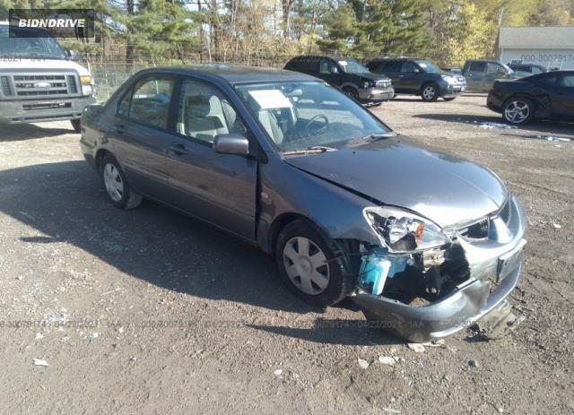 Lot #1694430218 2005 MITSUBISHI LANCER ES salvage car