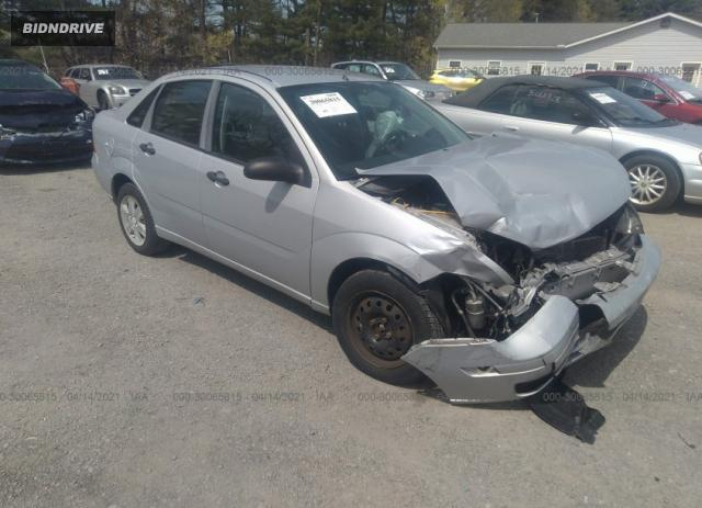 Lot #1694430460 2007 FORD FOCUS S/SE/SES salvage car