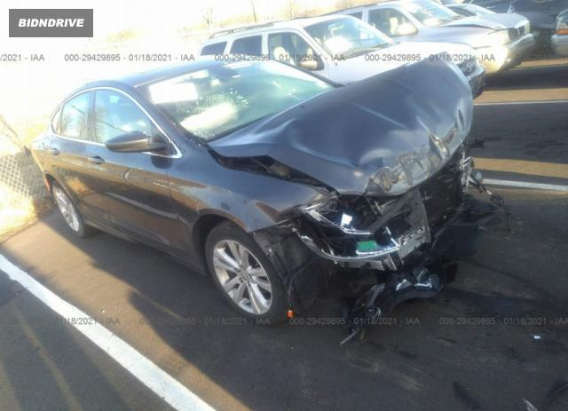 Lot #1694431872 2016 CHRYSLER 200 LIMITED salvage car