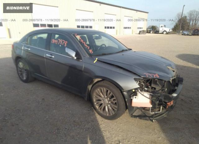 Lot #1694432262 2012 CHRYSLER 200 LIMITED salvage car