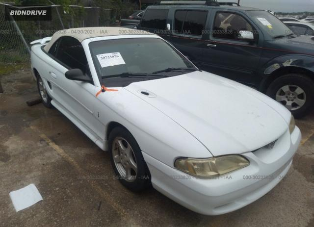 Lot #1694432510 1998 FORD MUSTANG salvage car