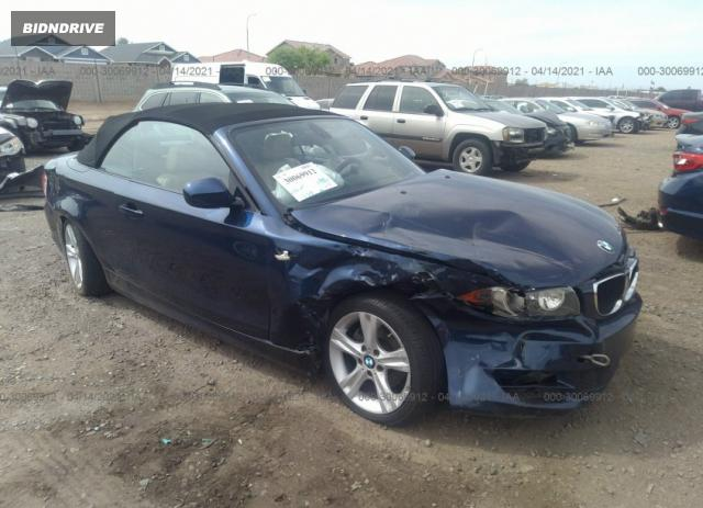 Lot #1694457028 2011 BMW 1 SERIES 128I salvage car
