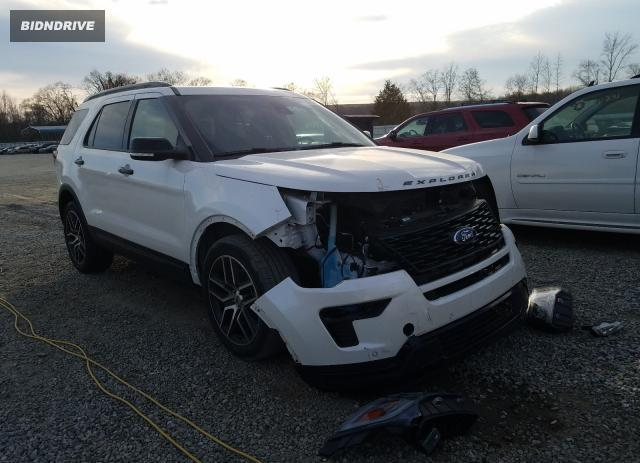 Lot #1694585680 2019 FORD EXPLORER S salvage car