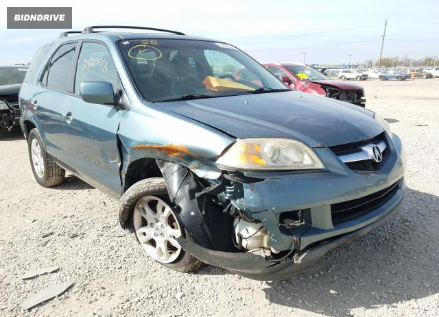 Lot #1694625712 2005 ACURA MDX TOURIN salvage car
