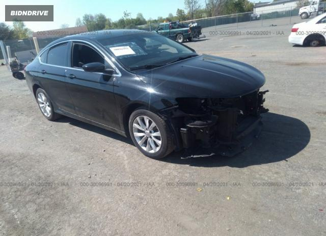 Lot #1694922378 2016 CHRYSLER 200 LIMITED salvage car