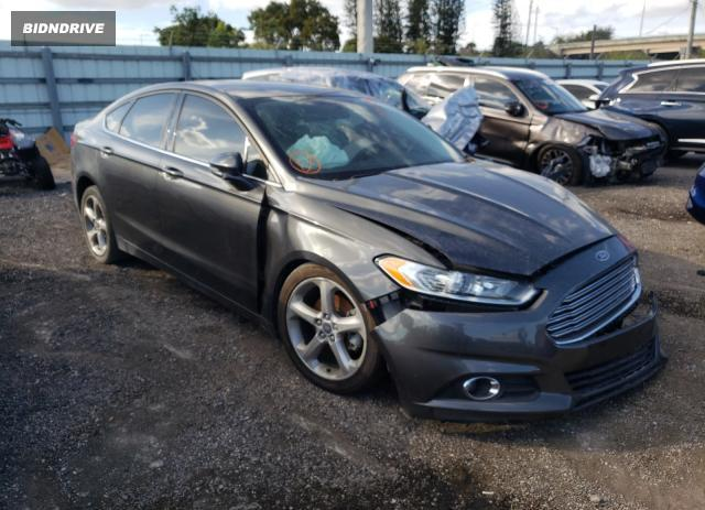 Lot #1697685780 2015 FORD FUSION SE salvage car