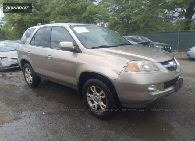 Lot #1698527792 2005 ACURA MDX TOURING salvage car