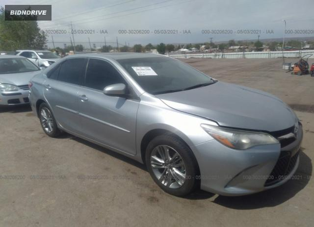 Lot #1703357638 2017 TOYOTA CAMRY XLE/SE/LE/XSE salvage car