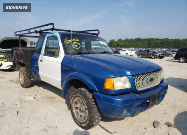 Lot #1705039038 2001 FORD RANGER SUP salvage car