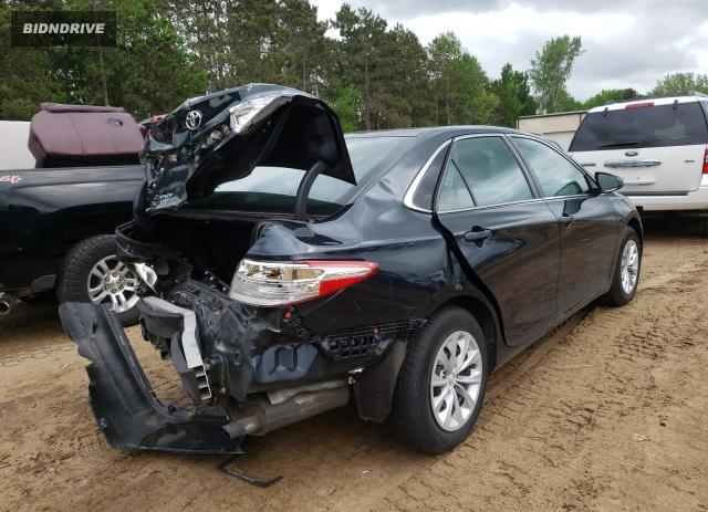 Lot #1705099490 2015 TOYOTA CAMRY LE salvage car
