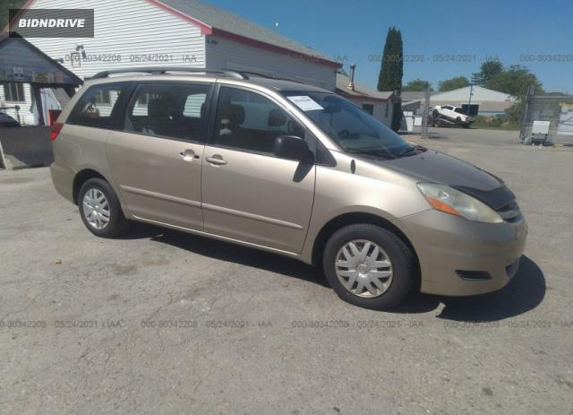 Lot #1709404695 2006 TOYOTA SIENNA CE/LE salvage car