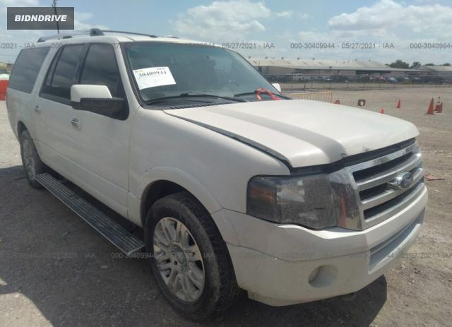 Lot #1709404792 2011 FORD EXPEDITION EL LIMITED salvage car