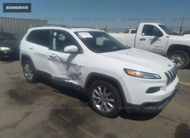 Lot #1711293928 2014 JEEP CHEROKEE LIMITED salvage car