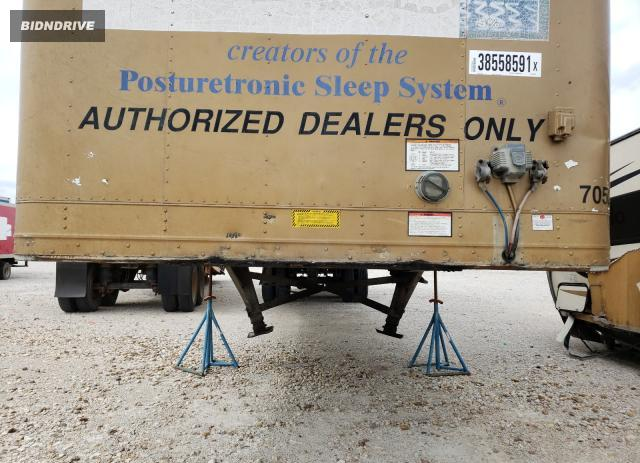 Lot #1711955612 1998 GREAT DANE TRAILER DRY 53FT salvage car
