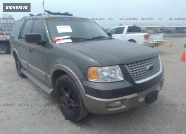 Lot #1712801012 2003 FORD EXPEDITION EDDIE BAUER salvage car