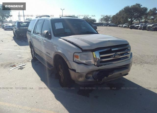 Lot #1714212702 2008 FORD EXPEDITION EDDIE BAUER/KING RANCH salvage car