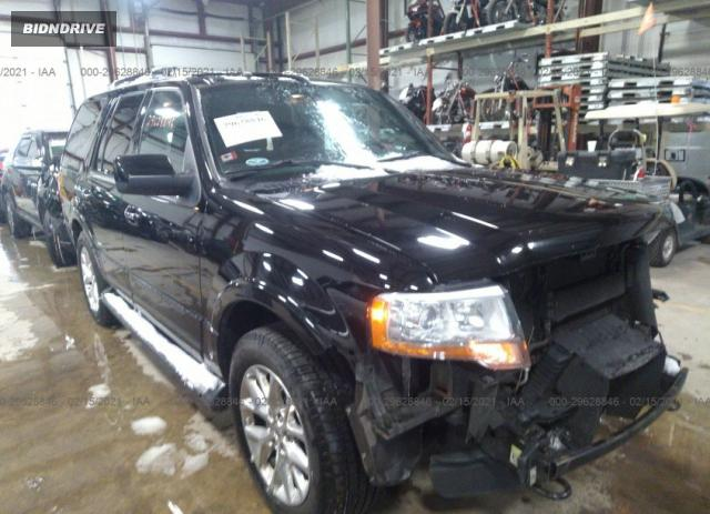 Lot #1715238248 2017 FORD EXPEDITION LIMITED salvage car