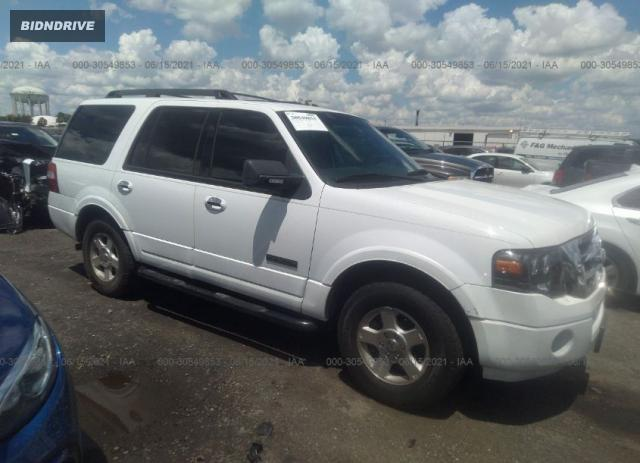 Lot #1716128722 2007 FORD EXPEDITION EDDIE BAUER salvage car