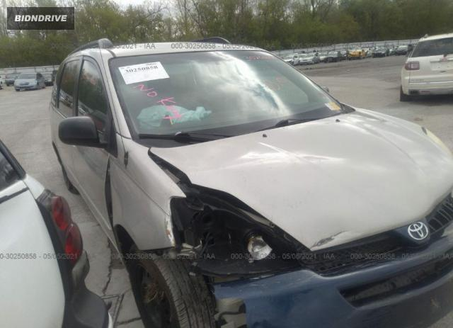 Lot #1716135455 2004 TOYOTA SIENNA CE/LE salvage car