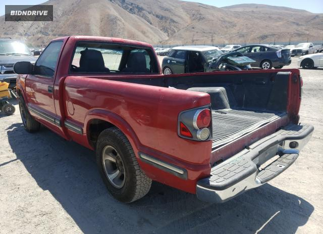 Lot #1720682340 1998 CHEVROLET S TRUCK S1 salvage car