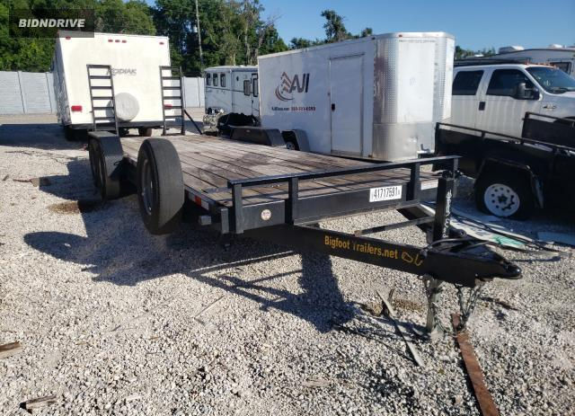 Lot #1720712698 2020 UTILITY FLATBED TR salvage car