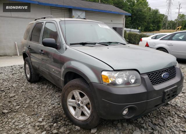 Lot #1722208795 2007 FORD ESCAPE HEV salvage car