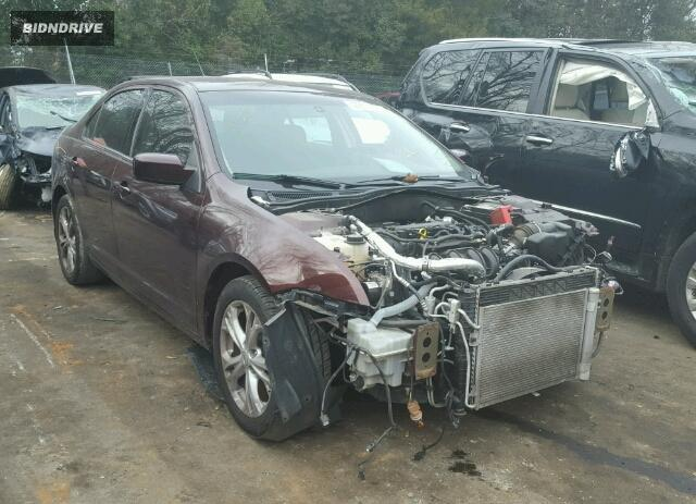 Lot #1722248212 2012 FORD FUSION SE salvage car