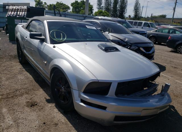Lot #1724331892 2009 FORD MUSTANG salvage car