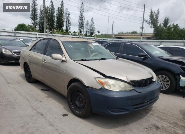 Lot #1727776448 2002 TOYOTA CAMRY LE salvage car