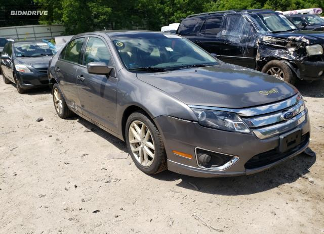 Lot #1729268542 2012 FORD FUSION SEL salvage car