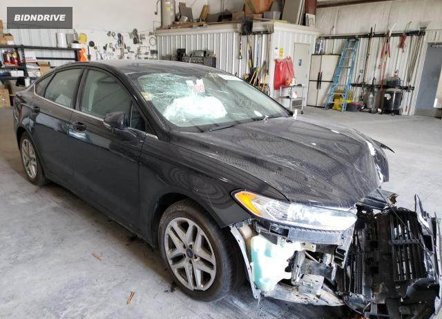 Lot #1729293282 2016 FORD FUSION SE salvage car