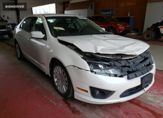 Lot #1729389185 2010 FORD FUSION HYB salvage car