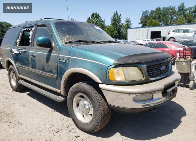 Lot #1729871668 1997 FORD EXPEDITION salvage car