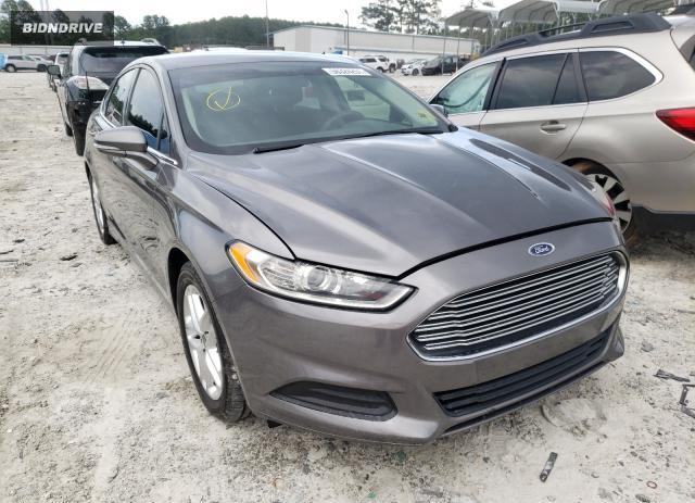 Lot #1729911768 2014 FORD FUSION SE salvage car