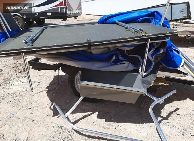 Lot #1731295398 2018 TIME TRAILER salvage car